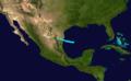 1916 Atlantic tropical storm 5 track.png
