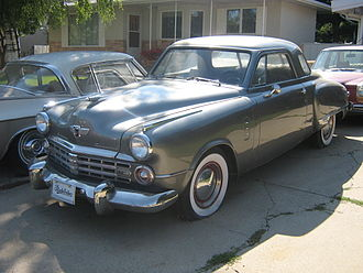 1947 Commander 5-passenger Coupe renamed Starlight for 1949 1947 Studebaker Commander (2776356038).jpg
