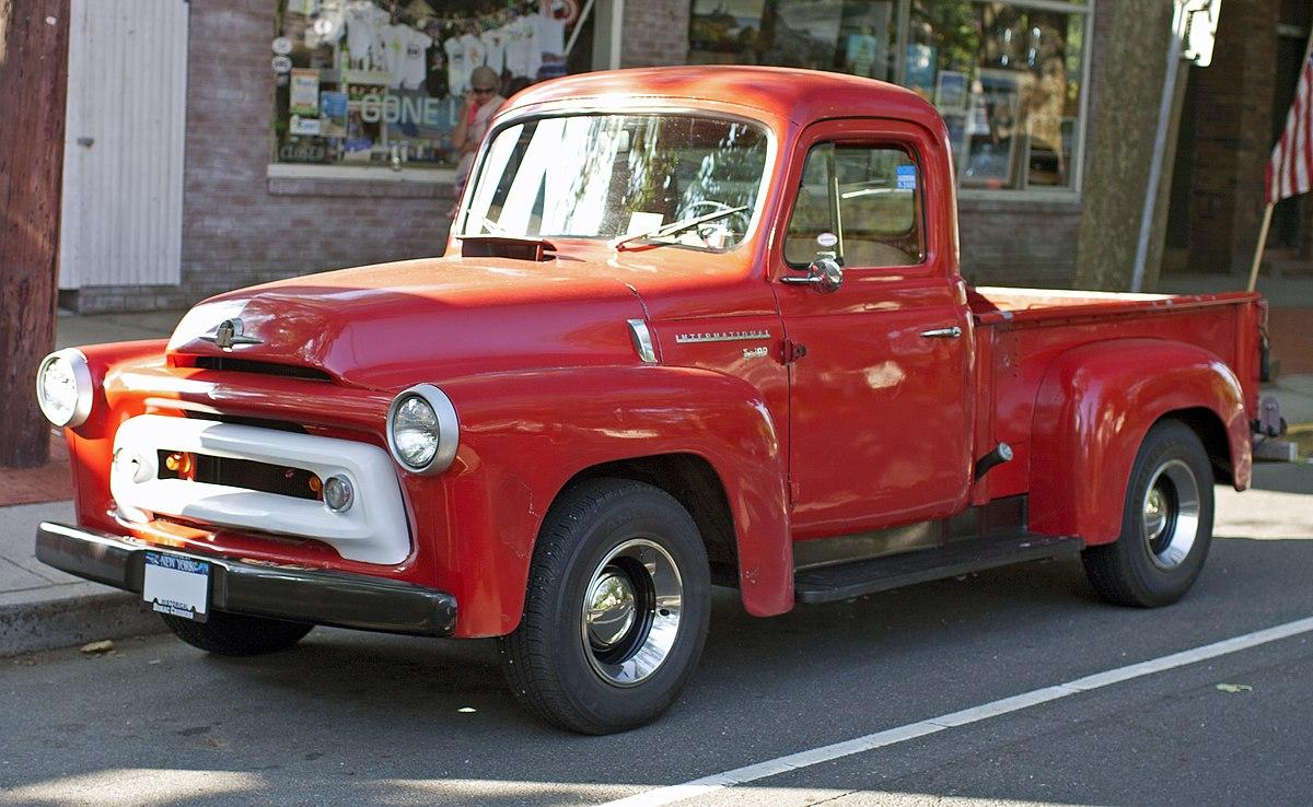 File:1956 IHC S100 pickup.jpg - Wikimedia Commons on