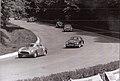 1957-09-08 Coppa Intereuropa Ferrari 250 0703GT Buticchi e Maserati A6G Pizzi.jpg
