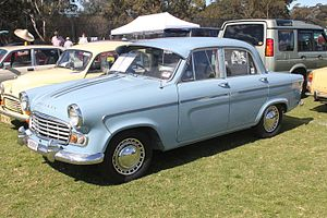 Australian Motor Industries - The Standard Vanguard was produced by AMI from 1958 to 1964