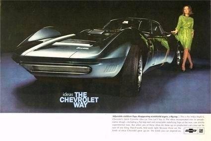 1966 Chevrolet Ad-Mako shark II