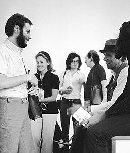 1972, Umberto Mariani, Joseph Beuys, Jean Pierre Van Tieghem, Documenta 5, Kassel
