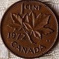 1972 Canada 1 cent (5195373568).jpg