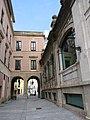 197 Porxos de la Plaza Mayor (Gijón), entre l'antic Hotel Madrid i la Pescadería Municipal.jpg