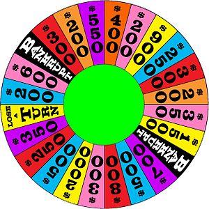 The 1986-1989 round three wheel used on daytim...