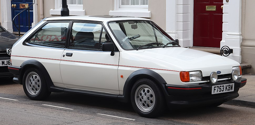 1989 Ford Fiesta XR2 1.6 Front