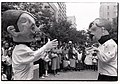 1992. World AIDS Day, Cape Town, South Africa. Joe & Gladys, the two puppets, discuss whether to have sex without a condom.jpg