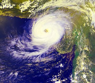1999 Pakistan cyclone - Image: 1999karachicyclone