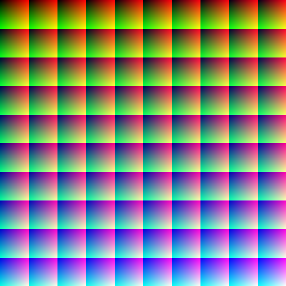 1Mcolors