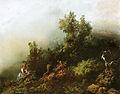 1 Navrátil Josef,Lesní krajina s děvčetem,(40.léta 19.st.).jpg