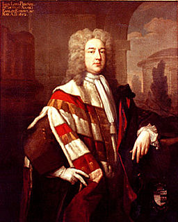 John Perceval, 1st Earl of Egmont Anglo-Irish politician, later viscount