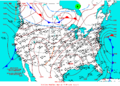 2004-02-18 Surface Weather Map NOAA.png