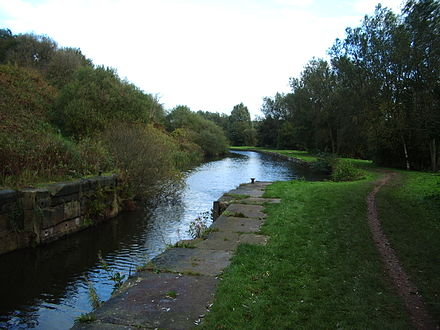 The Sankey Canal (photograph taken in Newton-le-Willows).