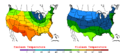 2006-05-13 Color Max-min Temperature Map NOAA.png