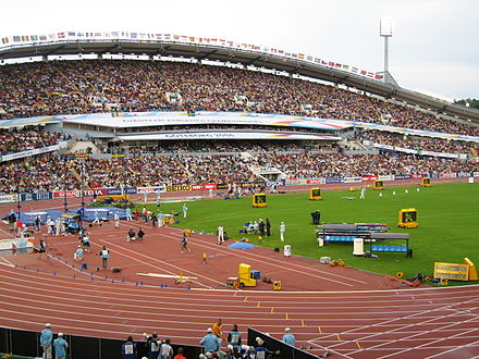 The 2006 European Athletics Championships at the Ullevi Stadium - Track and field