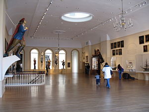 Peabody Essex Museum - The East India Marine Hall is one of the oldest parts of the museum, built in 1825. The space is used for special events, and for temporary art installations