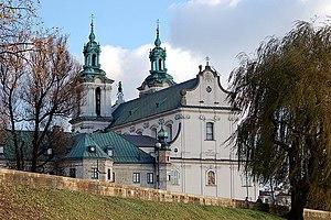 Czesław Miłosz - Miłosz's final resting place:  Skałka Roman Catholic Church, Kraków