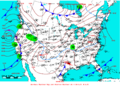 2008-02-24 Surface Weather Map NOAA.png