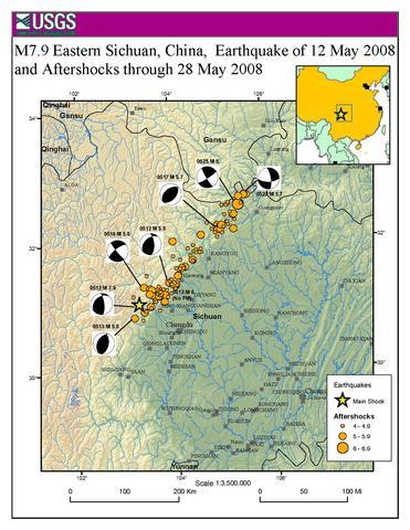 Earthquake Information by Region