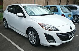 2009 Mazda3 (BL) SP25 hatchback (2009-10-29).jpg