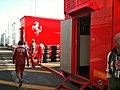 2010 Italian GP - Scuderia Ferrari paddock (1).jpg