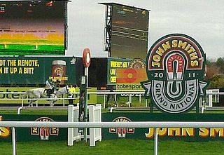 Grand National English horse race held at Aintree every year