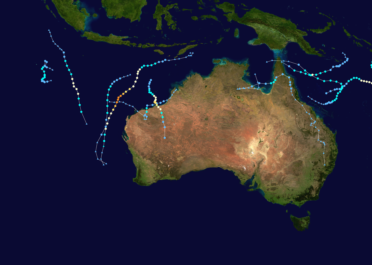 2012 13 Australian Region Cyclone Season Wikipedia