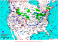 2013-01-20 Surface Weather Map NOAA.png
