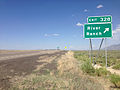 2014-06-10 16 18 55 Sign for Exit 328 along eastbound Interstate 80 in River Ranch, Nevada.JPG