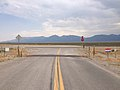 2014-07-18 09 55 11 View north at the north end of Nevada State Route 895 at the junction with Nevada State Route 318 in Preston, Nevada.JPG