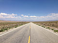 2014-08-09 14 06 39 View east along U.S. Routes 6 and 50 about 91.0 miles east of the Nye County line in White Pine County, Nevada.JPG