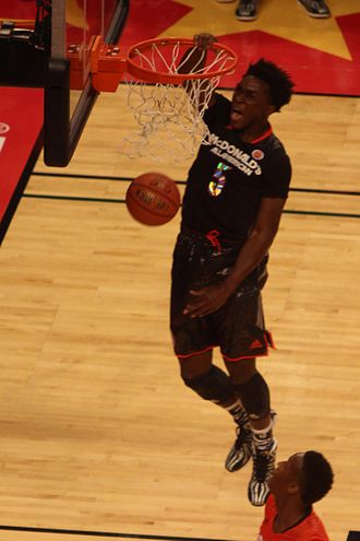 2014–15 Arizona Wildcats men's basketball team - Stanley Johnson in the 2014 McDonald's All-American Boys Game