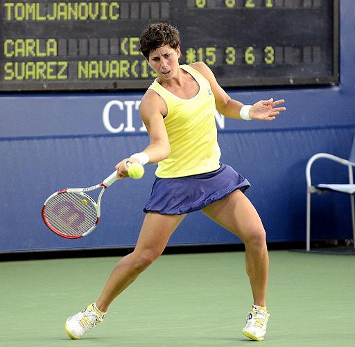 2014 US Open (Tennis) - Tournament - Carla Suarez Navarro (14951733579)