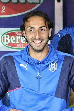 Emiliano Moretti - Moretti with the Italy national team in 2015