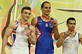 2015 European Artistic Gymnastics Championships - Horizontal Bar - Medalists 14.jpg
