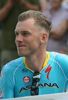 2015 Tour de France team presentation, Lars Boom.jpg