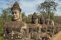 2016 Angkor, Angkor Thom, Brama południowa (07).jpg