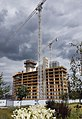 2016 Woolwich, Royal Arsenal, Waterfront construction site 16.jpg
