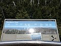 2017-05-17 13 31 33 Sign describing the view north from the observation tower on Clingmans Dome in Great Smoky Mountains National Park, on the border of Sevier County, Tennessee and Swain County, North Carolina.jpg