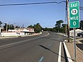 2018-09-19 16 05 37 View east along New Jersey State Route 13 and Ocean County Route 632 (Bridge Avenue) just west of Rue Lido and Hollywood Boulevard in Point Pleasant, Ocean County, New Jersey.jpg