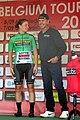 2018 LottoBelgiumTour podium Kopecky De Vlaeminck.jpg