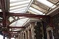 2018 at Great Malvern station - platform 1 canopy.JPG