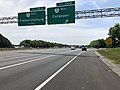 2019-05-29 12 35 02 View south along Interstate 95 and U.S. Route 17 at Exit 130B (Virginia State Route 3 WEST, Culpeper) in Fredericksburg, Virginia.jpg