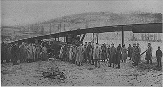 Gothaer Waggonfabrik - AEG GIV crash 23 December 1917