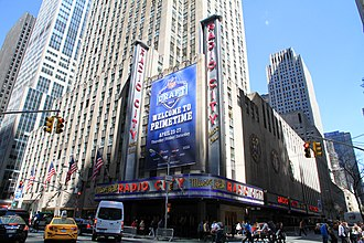 Midtown Manhattan - Radio City Music Hall