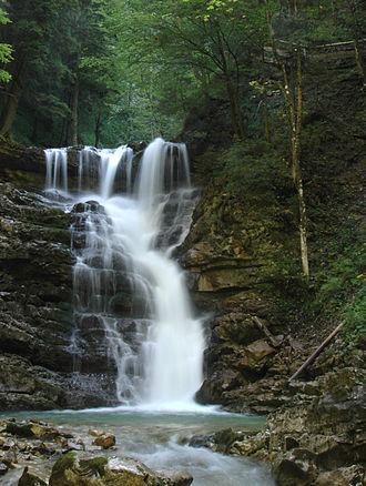 Bad Feilnbach - Image: 2792 Jenbach Wasserfall