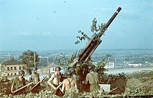 Bofors 75 mm Model 1929 - Hungarian 8-cm 29M in Russia, 1942