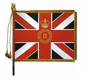 Canterbury, and Nelson-Marlborough and West Coast Regiment - Queen's Colour