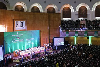 Prime University - 2nd Convocation of Prime University held at BICC
